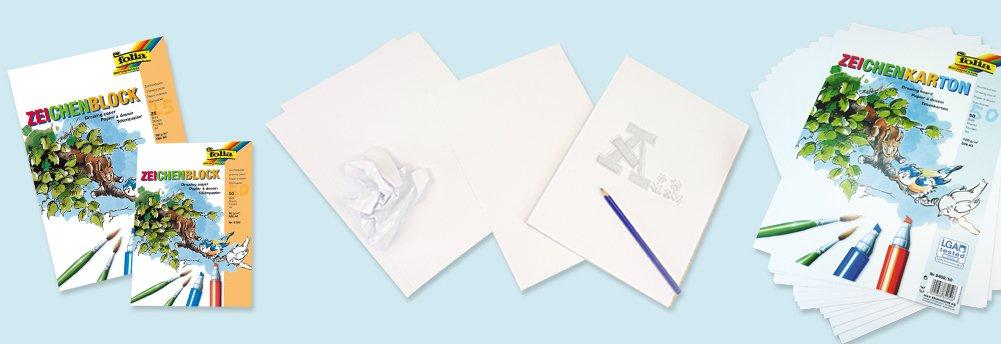 Zeichen- und Malpapier