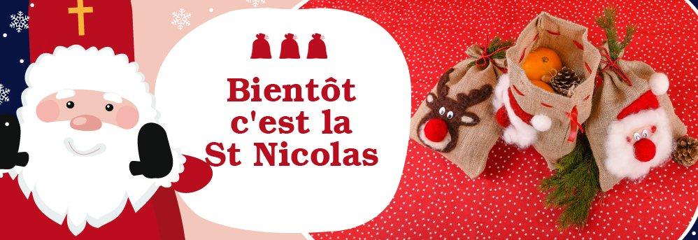 Sacs de jute St Nicolas