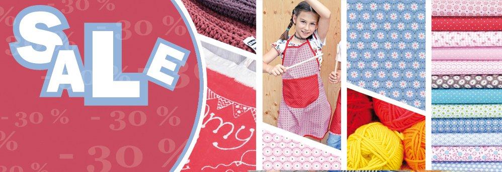 Uitverkoop - stof, zijde, garen, wol