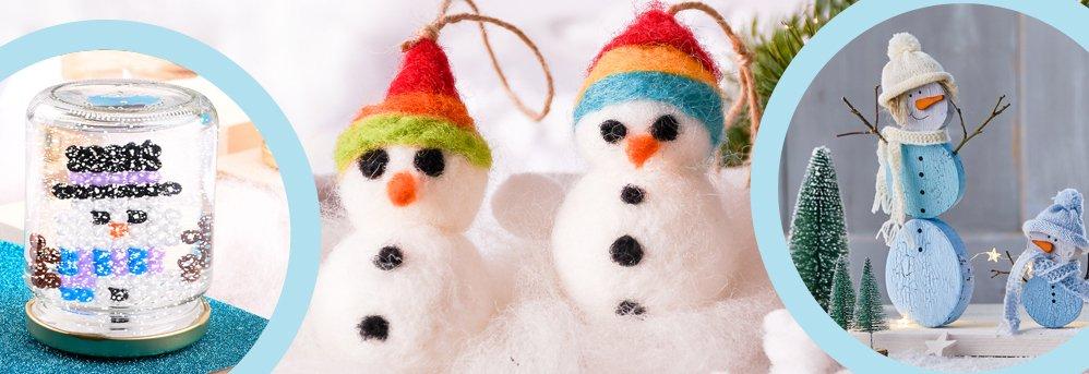 Kein Winter ohne Schneemännchen