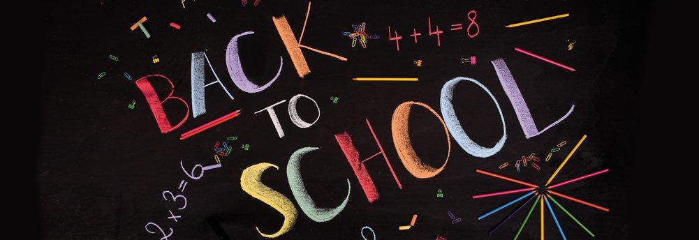 Begin van het nieuwe schooljaar