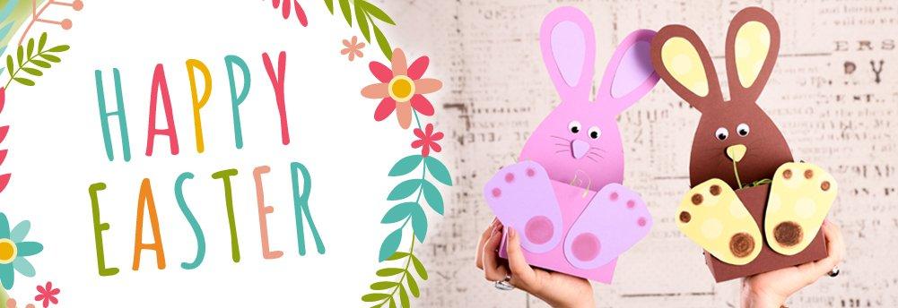 Réaliser des paniers de Pâques