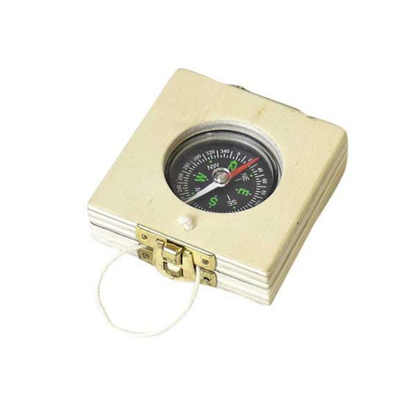 Kompas met zonnewijzer