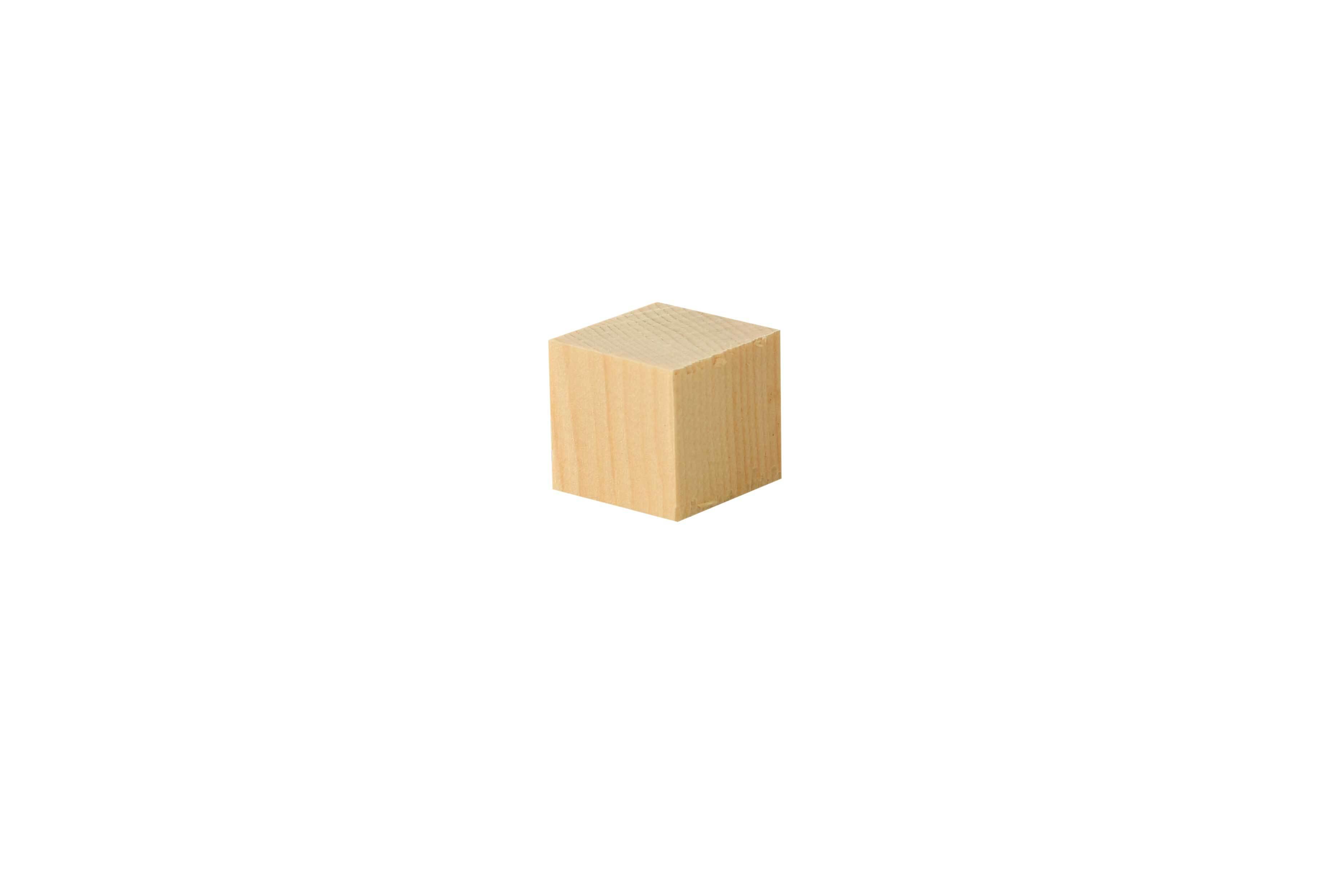 Houten blokjes klein - 50 st., 20 x 20 cm