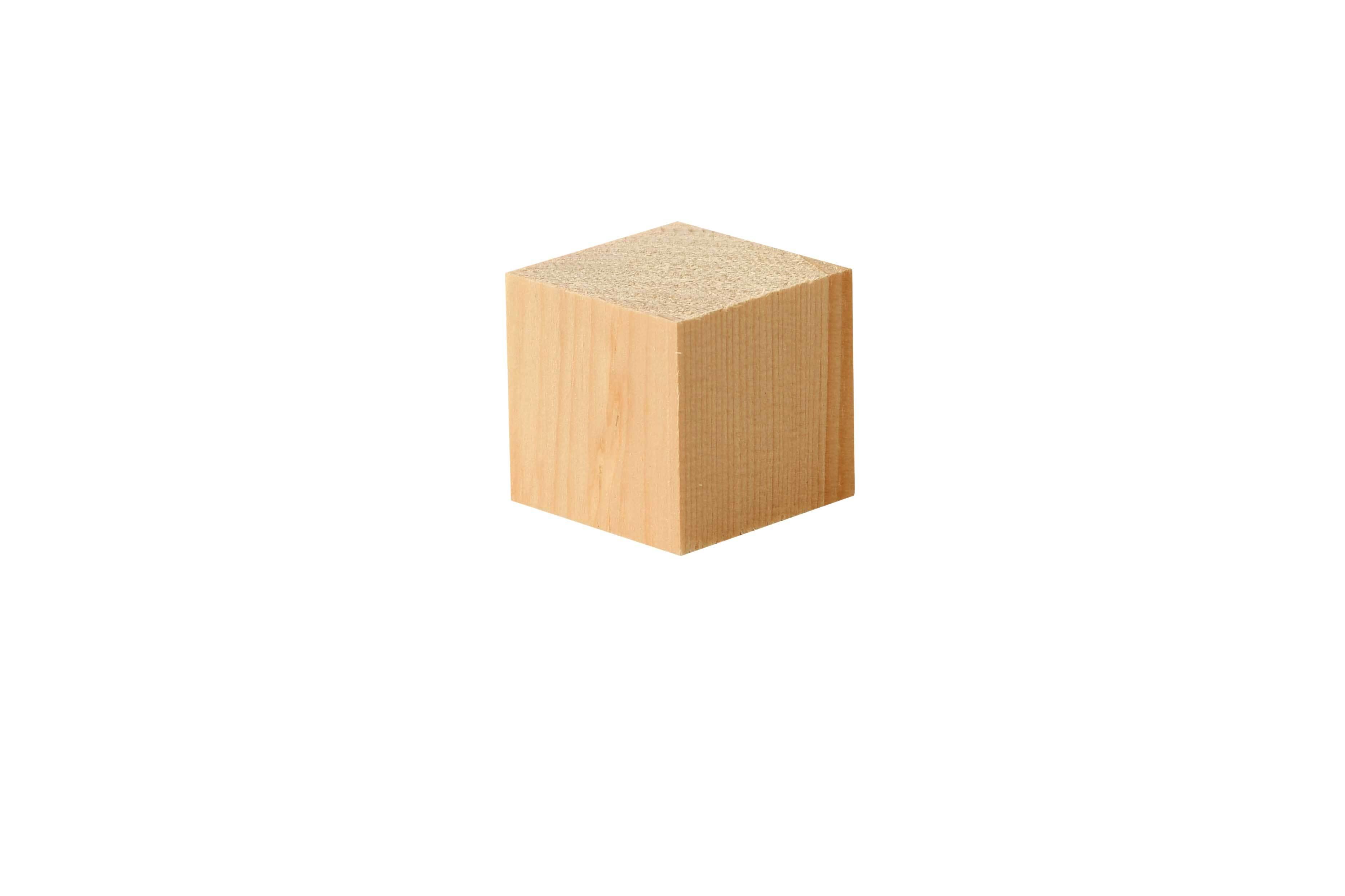 Houten blokjes middel - 50 st., 30 x 30 cm