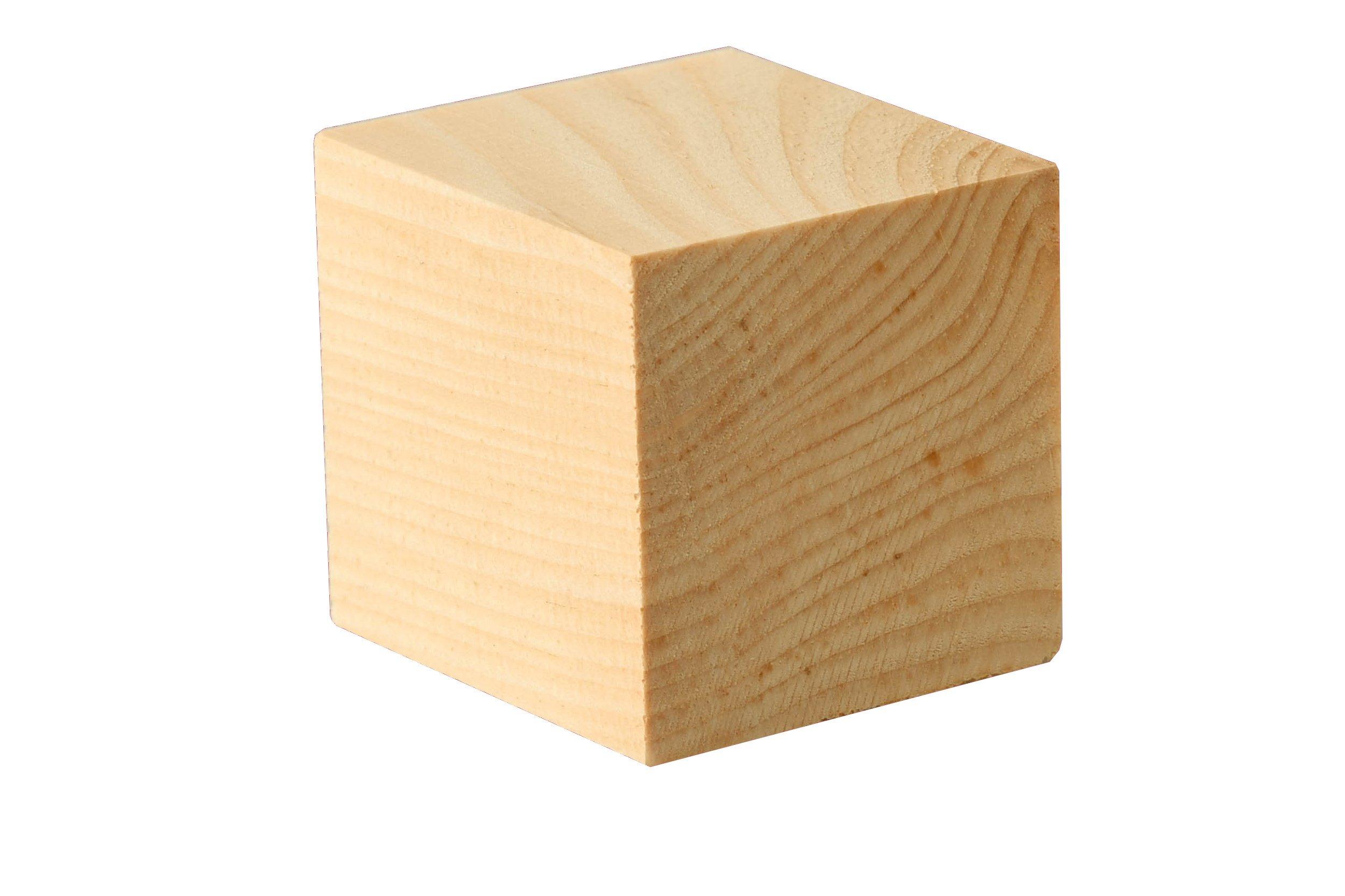 Holzwürfel Zirbe - 20er Pkg., 4,2x4,2x4,2 cm