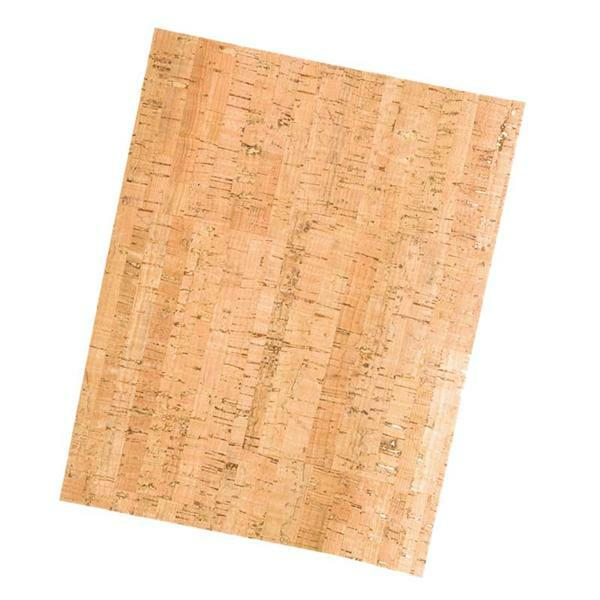 Korkstoff 0,8 mm - 45 x 35 cm, Stripes