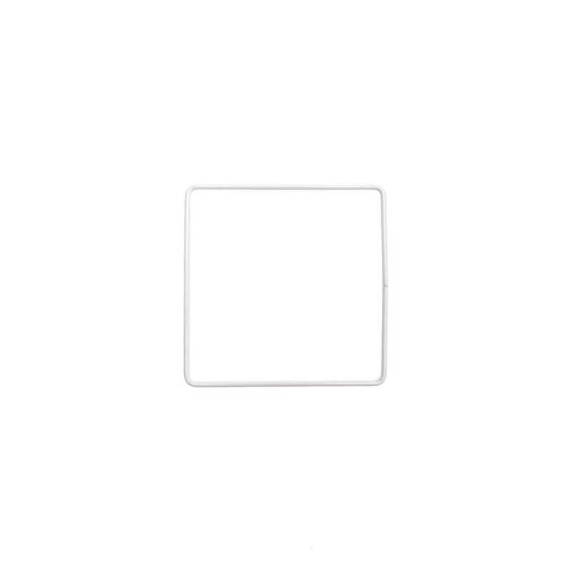 Metalen draadvorm - vierkant, 10 x 10 cm
