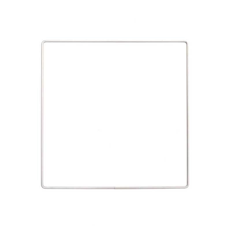 Metallring - Quadrat, 20 cm