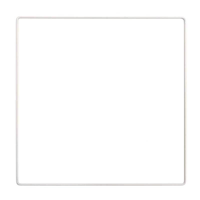 Metallring - Quadrat, 25 cm