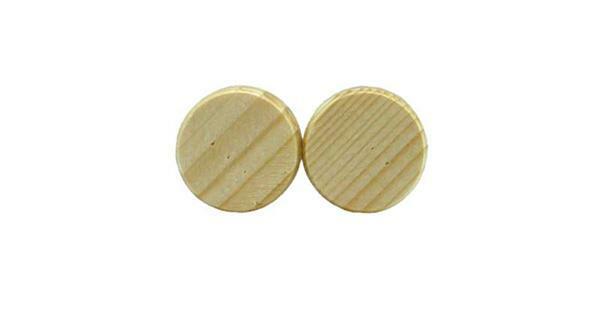 Houten schijven - 50 st./pak, Ø 20 mm