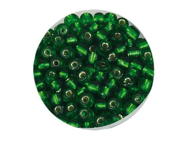Rocailles - Ø 4 mm, vert