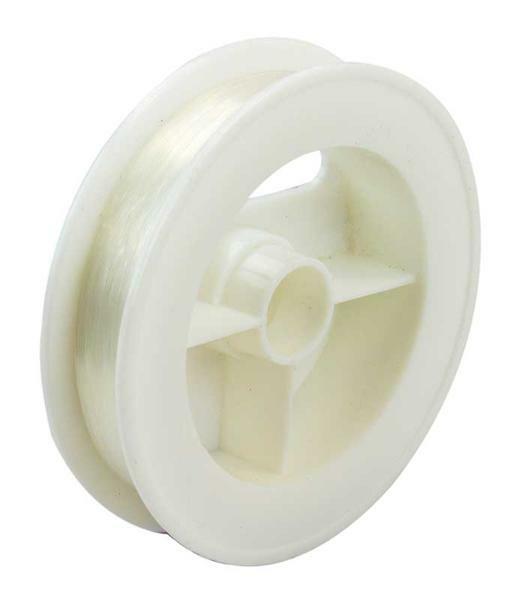 Nylonfaden transparent - Ø 0,15 mm, 100 lfm