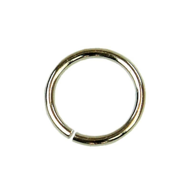 Spaltringe - 20er Pkg., Ø 8 mm, silberfarbig