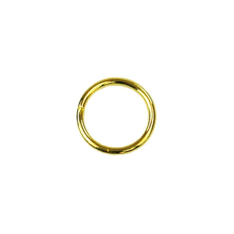 Spaltringe - 20er Pkg., Ø 7 mm, goldfarbig
