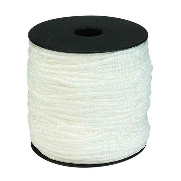 Paracord 2 mm - 50 m, wit