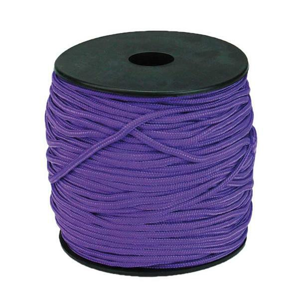 Paracord 2 mm - 50 m, lila