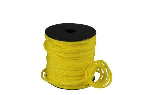 Paracord 4 mm - 40 m, gelb