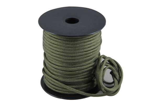 Paracord 4 mm - 40 m, donkergroen
