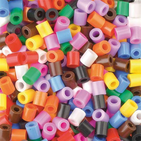 Bügelperlen - Standardfarben, 5.000 Stk.