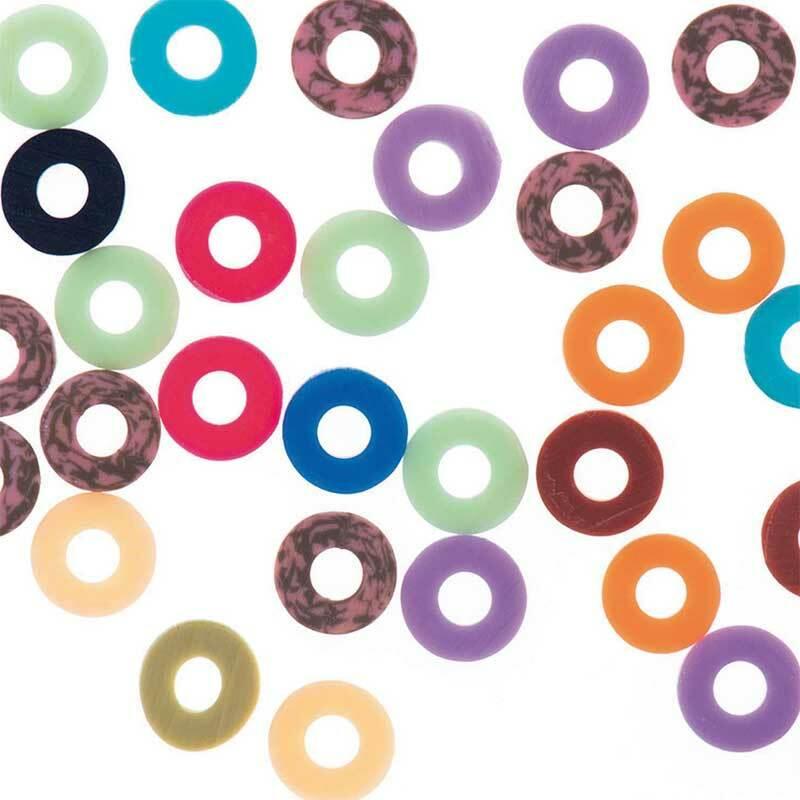 Mélange perles Katsuki - 60 pces, multicolore