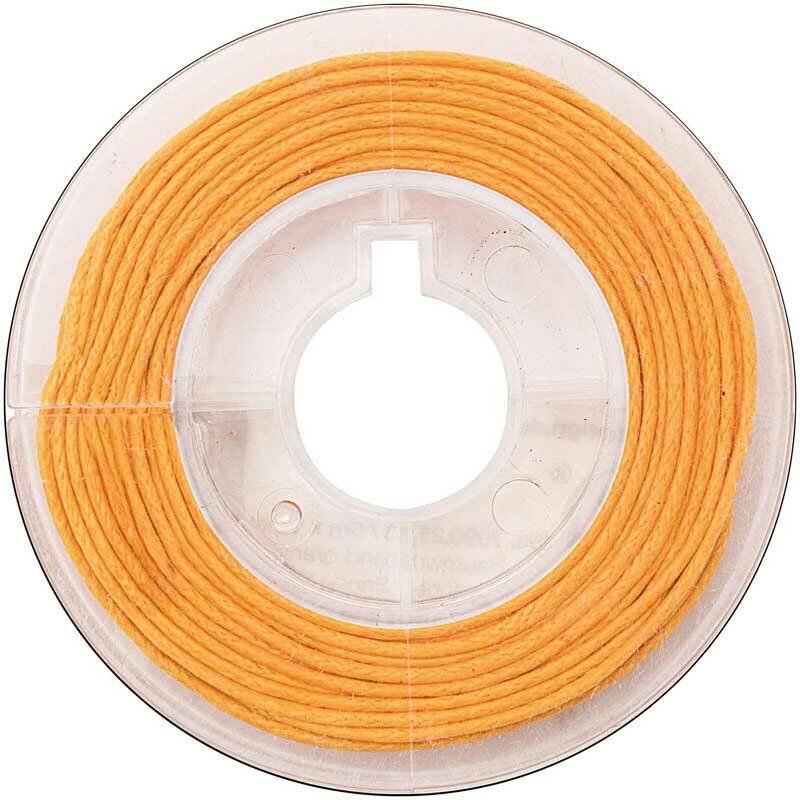 Baumwollkordel Ø 1 mm - 5 m, orange