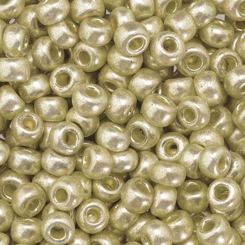 Rocailles metallic Ø 3,5 mm, silber
