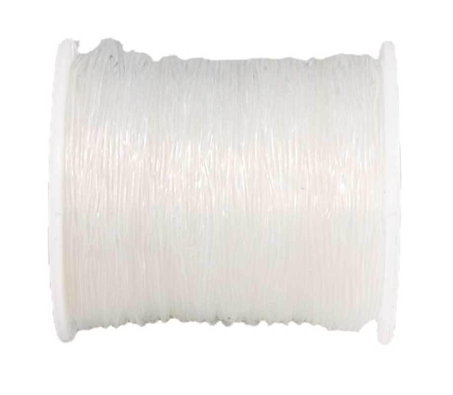 Elastischer Nylonfaden - Ø 0,6 mm, transparent