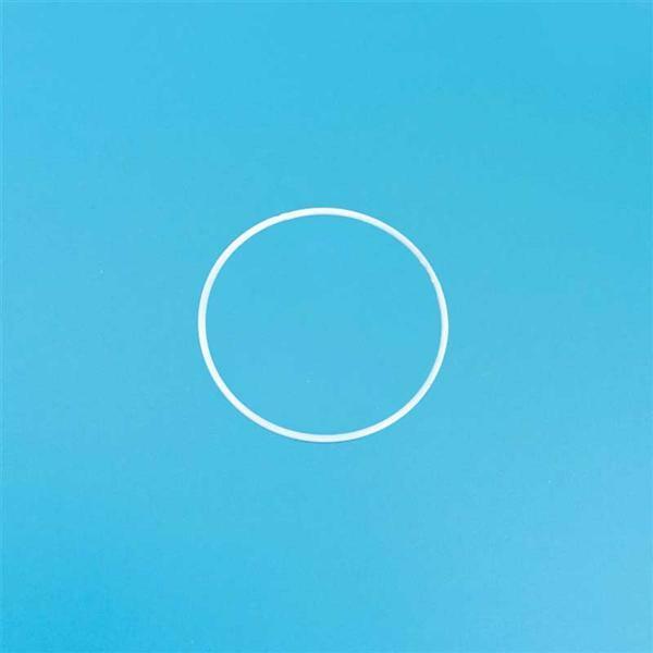 Metalen draadvorm - ring, Ø 15 cm