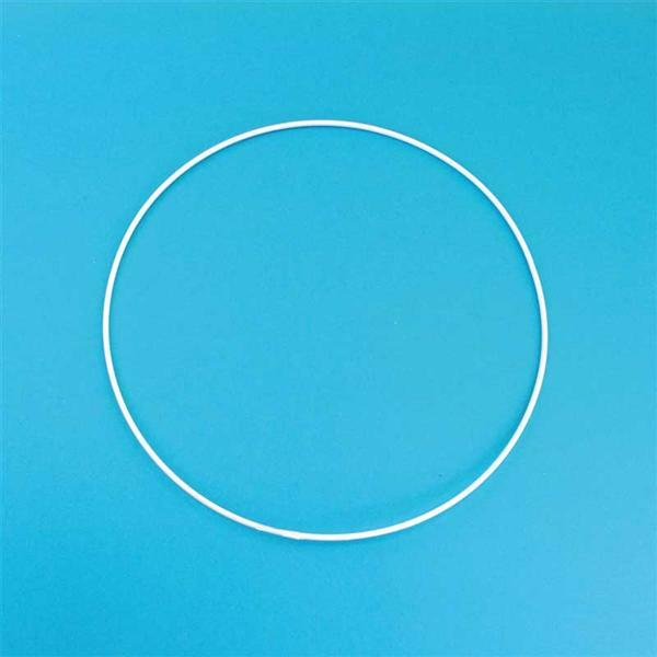 Metalen draadvorm - ring, Ø 25 cm