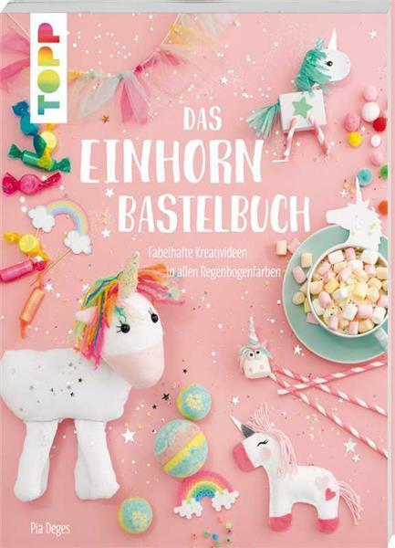 Buch - Das Einhorn-Bastelbuch
