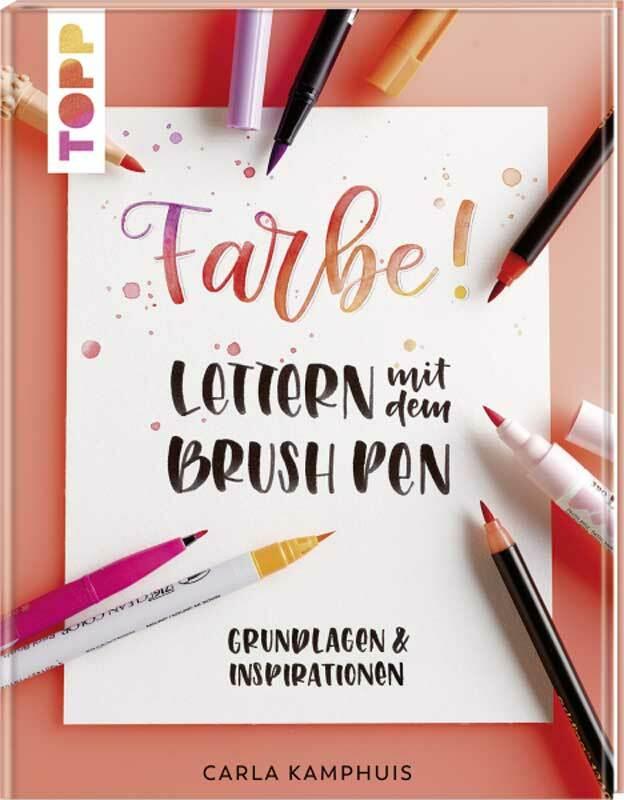 Buch - Farbe! Lettern mit dem Brush Pen