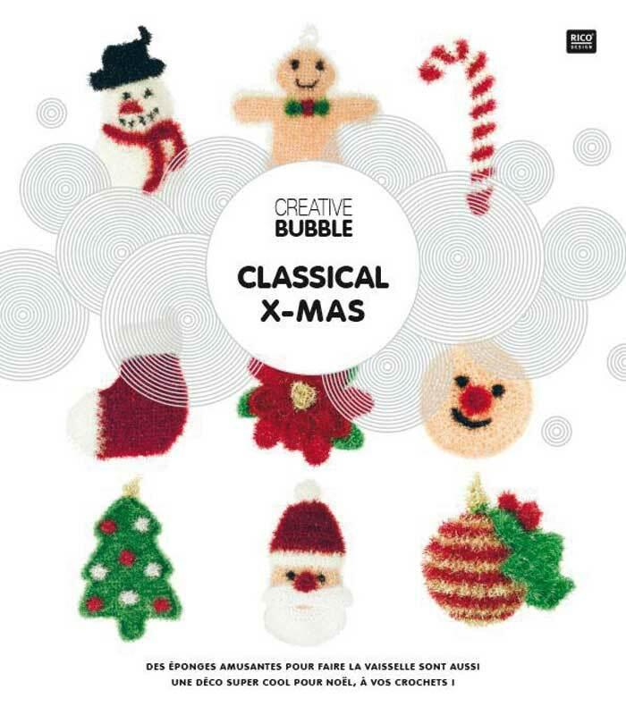 Buch - Anleitungsheft Bubble Christmas, FR