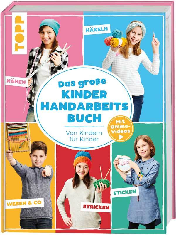 Buch - Das große Kinder Handarbeitsbuch