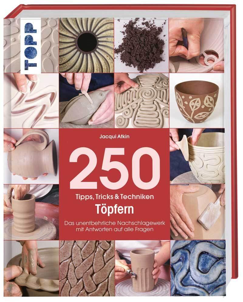Buch - 250 Tipps, Tricks & Techniken Töpfern