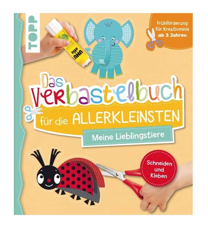 Buch - Verbastelbuch Schneiden & Kleben