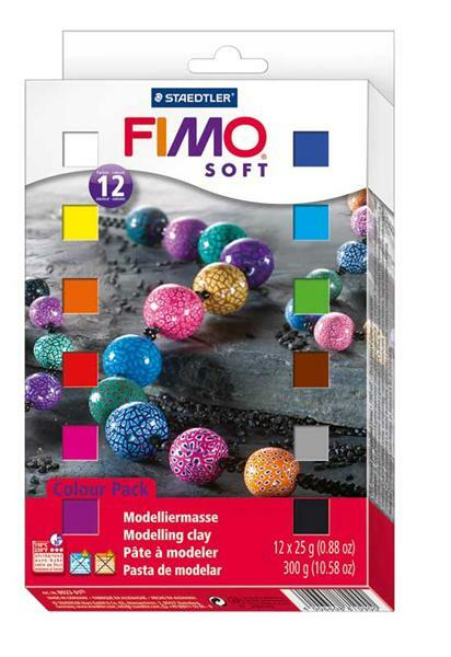 Fimo Soft - materiaalverpakking, 300 g