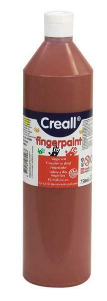 Kinder Fingerfarbe - 750 ml, braun