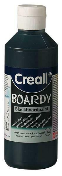 Schultafelfarbe Creall®-boardy - 250 ml, schwarz