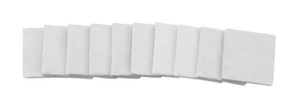 Set de cartons à peindre - 10 pces, 3 x 3 cm