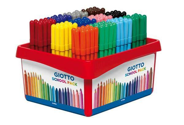Giotto Turbo Color - Faserstifte, 144 Stk.
