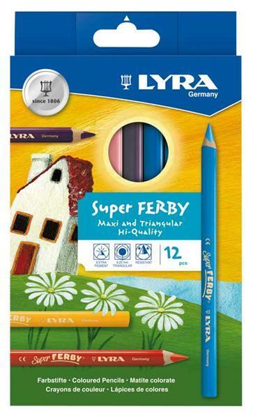 Lyra Super Ferby® Buntstifte, 12 Stk.