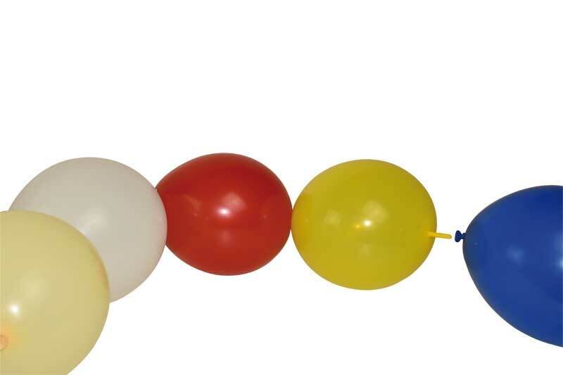 Ketting ballonnen, 20 stuks