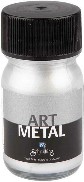 Art metalverf - 30 ml, zilver