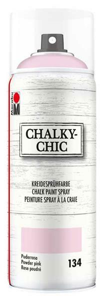 Chalky-Chic krijtverf spray - 400 ml, poederroze