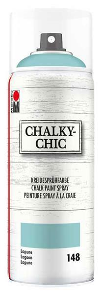 Chalky-Chic krijtverf spray - 400 ml, lagune