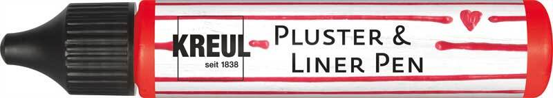 Pluster & Liner Pen - 29 ml, erdbeere