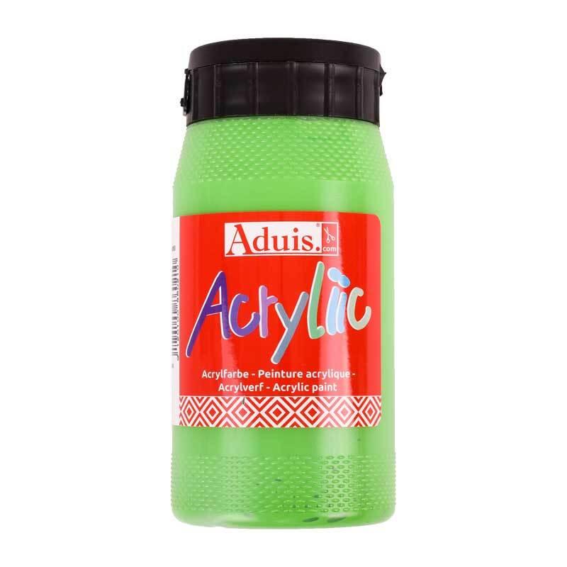 Aduis Acryliic Acrylfarbe - 500 ml, permanentgrün