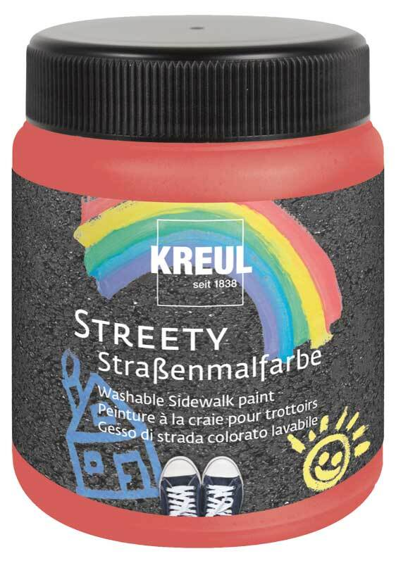 Streety Straßenmalfarbe - 200 ml, ringelsockenrot