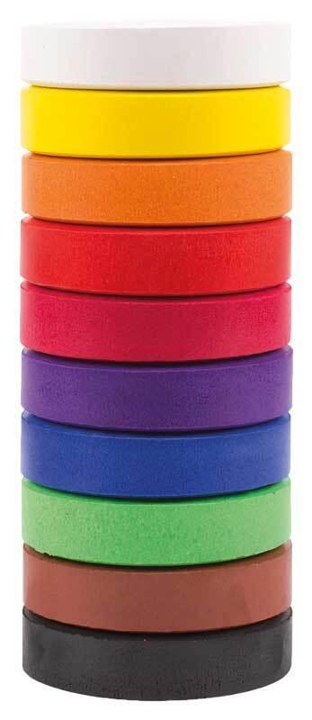 Temperablock-Set - 55 mm, 10 Farben